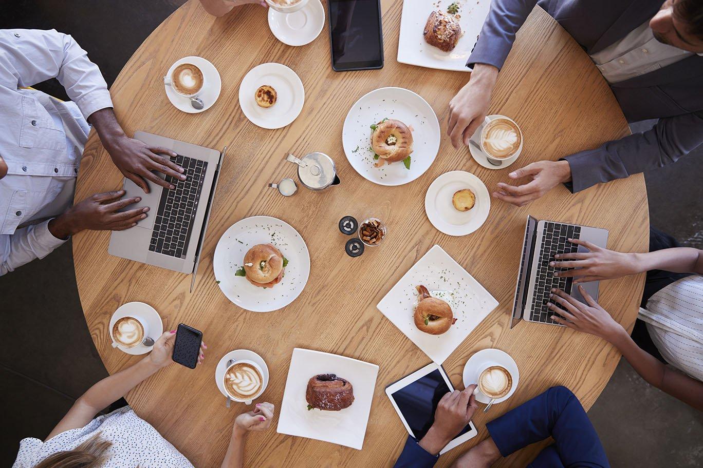 Cafe meet up